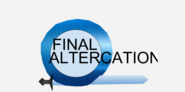 Final altercation logo