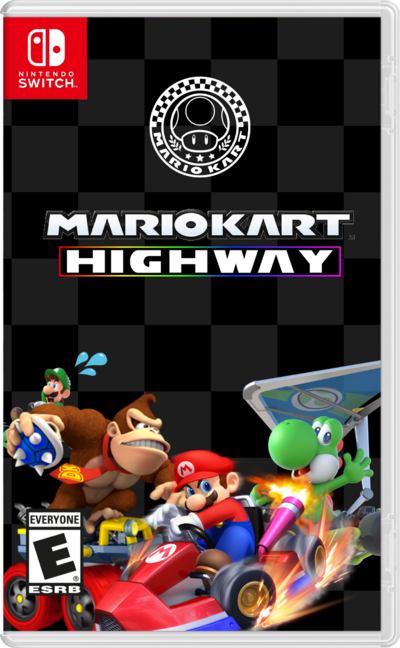 Mario Kart Highway Box Art