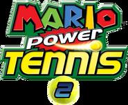 Mario Power Tennis 2 Logo