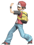 0.6.Pokemon Trainer Red Posing 2