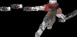 2.5.Ghirahim throwing Kunai