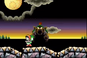 Baby Bowsers Castle stage DSSB