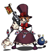 Skullgirls Peacock