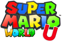 Super Mario Wordl U Logo