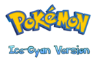 Pokemon Ice-Cyan Version Logo