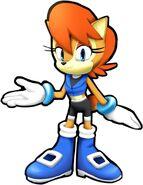 Sonic Runners Sally