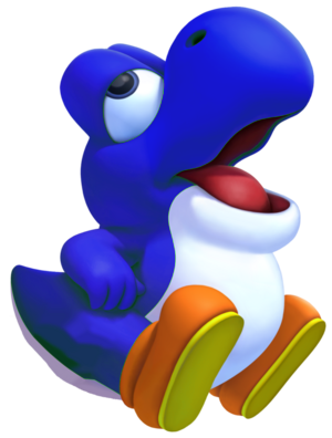 File:300px-Blue Baby Yoshi.png