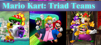 Mario Kart Triad Teams Logo