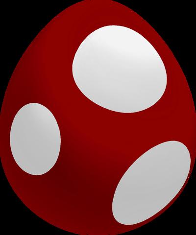 File:Maroon Baby Yoshi Egg.png