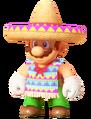 Poncho Sombrero Mario 0
