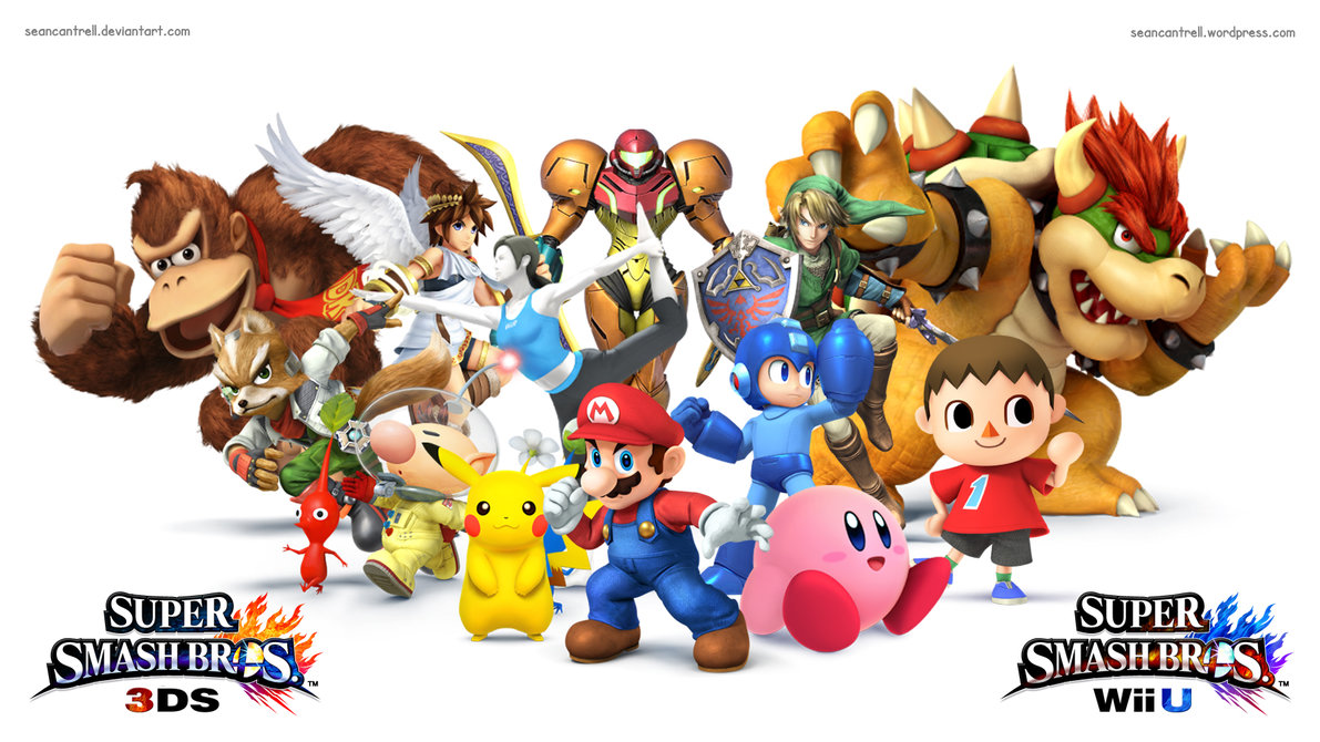Super Smash Bros For Wii U 3ds Wallpaper By Seancantrell D68odyz
