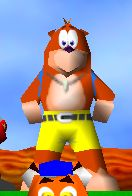 Diddy kong racing banjo