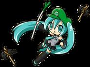 Luigi Hatsune Miku 4