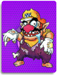 PowerCardWario ZombieWario