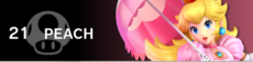 Peach banner