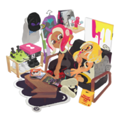 Tower Records Inkling Octoling