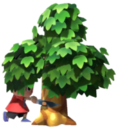 0.4.Red Villager chopping off a Tree