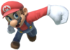 11.Mario performing a spike