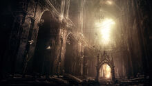 Abandoned gothic cathedral by i netgrafx