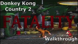 Donkey Kong Country 2 Walkthrough Playthrough Snes