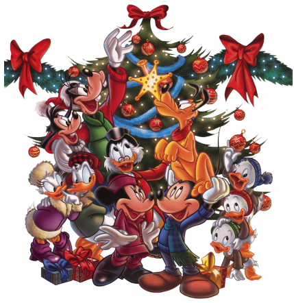 mickey minnie mouse christmas tree group picturesjpg