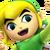 Toon Link Spirit Icon SSBE