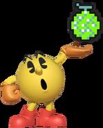 0.5.Pac-Man Holding a Melon