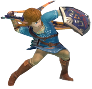 1.8.Champion Link preparing his boomerang