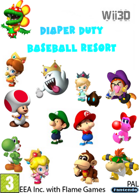 Diaper Duty Baseball Resort Wii3D BETA