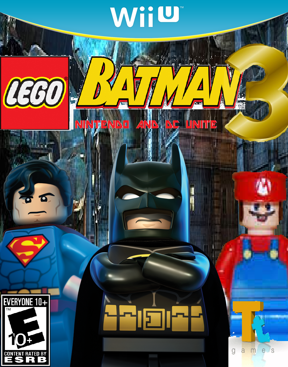 lego batman 3: nintendo and dc unite | fantendo - nintendo fanon