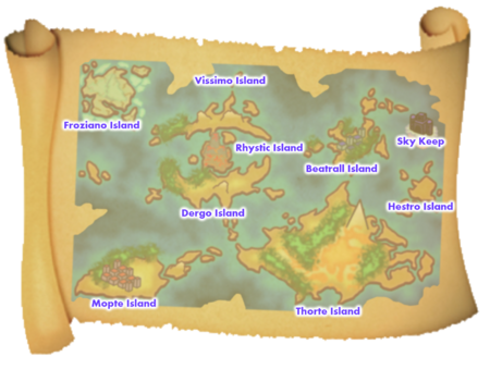 Melodius Islands Names