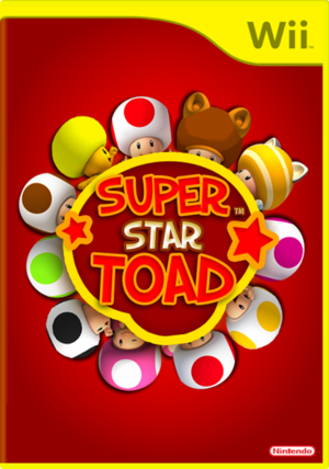 Super Star Toad - Original Cover