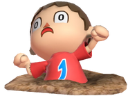 0.11.Red Villager stuck in a Pitfall