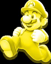 Glowing Mario