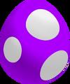 Purple Baby Yoshi Egg