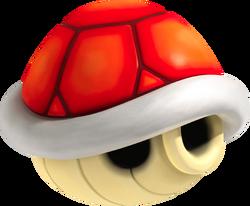 Red Shell NSMBU