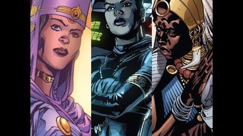 The Full Origin Of Marvel's Shuri ( Princess Of Wakanda )