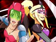 Wonder Momo and Amazona