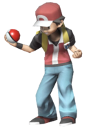 0.7.Pokemon Trainer Red Smiling