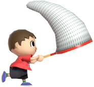 0.7.Red Villager swingin his net