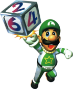 MP2 Space Luigi