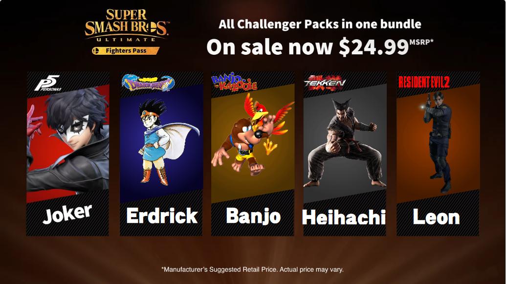 User blog:Enigima/My Final Super Smash Bros  Ultimate DLC Fighters
