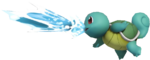 2.5.Shiny Squirtle using Water Gun