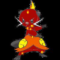 Blaze The Dewott