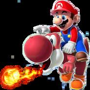 Fire Yoshi