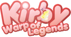 Kirby Warp of Legends Logo