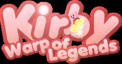 Kirby Warp of Legends Logo