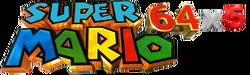 Super Mario 64x5 Logo
