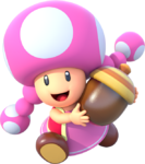 Toadette - MarioPartyStarRush