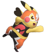 1.6.Pikachu Libre striking